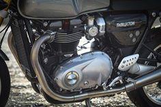 Triumph Thruxton R 2016 engine