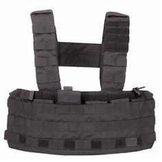 Chest Rigs and Tactical Vests 177891: 5.11 Tactical Tactec Waterproof Chest Rig Black Molle Military Police Airsoft -> BUY IT NOW ONLY: $79.99 on eBay!
