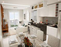 cozinha aberta para a sala - Pesquisa Google