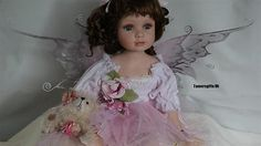"""22"""" #alberon sitting fairy #porcelain doll #""""madison"""" bnew,  View more on the LINK: http://www.zeppy.io/product/gb/2/121823613176/"""