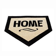 Home Plate Doormat | Mat, Baseball, Sports | UncommonGoods