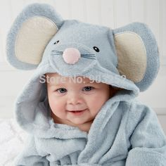 Wholesale Autumn&winter Boy Girl Animal Baby Bathrobe Newborn Baby Bath Hooded Towel Cotton Wash Cloth Baby Towel Poncho Washcloth from Our website with high quality and fast shipping worldwide. Baby Spa, Baby Beach, Summer Baby, Hooded Bath Towels, Baby Towel, Baby Cartoon, Kids Bath, Baby Care, Baby Animals