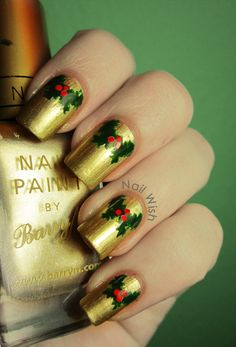 Nail Wish: Winter Holiday Challenge #5: Christmas Decoration