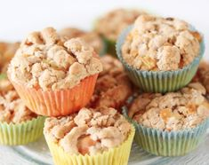 apple crumble muffins, a very nice recipe with a picture from the . Delicious apple crumble muffins, a very nice recipe with a picture from the .Delicious apple crumble muffins, a very nice recipe with a picture from the . Apple Crisp Recipes, Apple Cake Recipes, Ice Cream Recipes, Cupcake Recipes, Snack Recipes, Apple Crumble Muffins, Apple Streusel, Caramel Apple Crisp, Caramel Apples