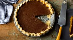 NYT Cooking: Brandied Pumpkin Pie