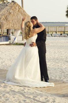 Samantha in her Anjolique Wedding Dress