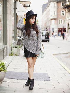 Fashion Fix: platte zwarte enkellaarsjes