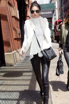 Kendall jenner winter style