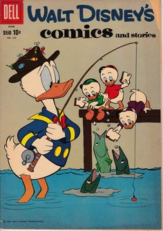 Walt Disney's Comics and Stories 237 June 1960 by ViewObscura