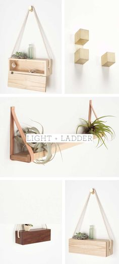 LAB Home: Bring the Outdoors in With Light and Ladder