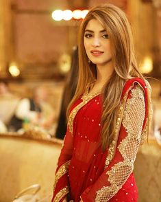[New] The 10 All-Time Best Home Decor (in the World) - Killing looks of adorable in red hot bridal wear! Bridal Mehndi Dresses, Wedding Dresses For Girls, Pakistani Wedding Dresses, Pakistani Dress Design, Party Wear Dresses, Bridal Outfits, Pakistani Outfits, Saree Wedding, Fancy Dress Design