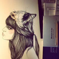 Erre de Raquel by Paula Bonet Illustration