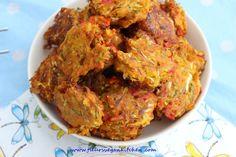 Pakora cu legume Vegan Soups, Vegetarian Recipes, Meatloaf, Dishes, Vegetables, Food, Tablewares, Essen, Vegetable Recipes
