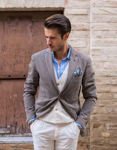 Men's Pocket Square Inspiration #1 I recently... | MenStyle1- Men's Style Blog