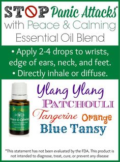 Via another pinner: Why I Love Young Living Peace Calming Blend. I have always dealt with anxiety and stress and I seem to have passed it on to my son. Check out how this blend is helping us. Calming Oils, Calming Essential Oils, Essential Oil Uses, Doterra Essential Oils, Young Living Essential Oils, Yl Oils, Young Living Oils, Aromatherapy Oils, Stress And Anxiety