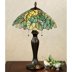 Wonderful Simple Hanging Ceiling Lamp Stained Glass Pendant Swag ...