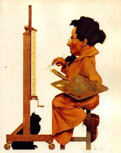 Maxfield Parrish - Self-Portrait?