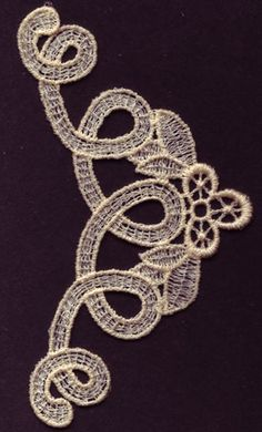 Large Swirling Neckline