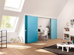 Деревянные двери система раздвижных дверей из Raumplus |  перегородки