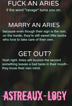 Sign aries man likes you