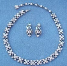 Vintage Bogoff Crystal Necklace Bridal Jewelry By Jeeperskeepers 195 00 Pinterest And Crystals