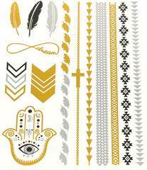 Temporary Tattoos/Flash Tattoos sheet) Design: Hamsa from Shop Tiffona Fontee Mother Nature Tattoos, Metal Tattoo, Elements Of Art, Temporary Tattoo, Hamsa, Tattoo Inspiration, Stocking Stuffers, Free Design, Body Art