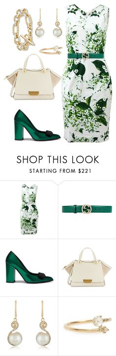 154. Office Classic capsule for Pure / Clear Spring. Day 14 by sollis on Polyvore featuring мода, Samantha Sung, Mulberry, ZAC Zac Posen, David Yurman, Effy Jewelry, WWAKE and Gucci