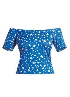 Blusa Ciganinha (Estrelas)