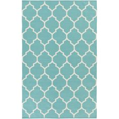 Found it at AllModern - Vogue Teal Geometric Claire Area Rug