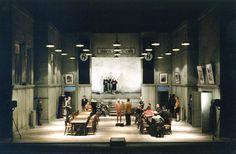 "Roni Toren Stage Design - רוני תורן  ""The Merchant of Venice"" /Shakespeare Staatstheatre Weimar - Germany ,1996 Director: Hanna Snir"