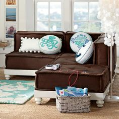 sectional / Cushy Lounge Collection / PBteen