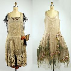 Crazy intricate Victorian dresses