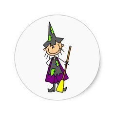 Shop Stick Figure Witch Stickers created by stickpeople. Halloween Drawings, Halloween Cartoons, Witch Stick, Welcome Home Cards, Halloween Classroom Decorations, Stick Figure Drawing, Cute Cartoon Characters, Rock Painting Designs, Cartoon Sketches