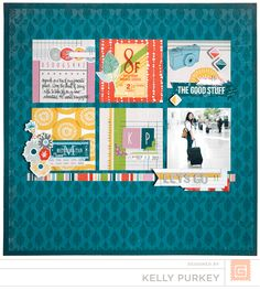 grids! still love them for page design | Kelly Purkey for BasicGrey | Mon Ami