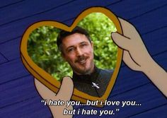 """There are some legitimate concerns about Lord Baelish's """"devotion"""" to Catelyn Stark and, later, his questionable feelings toward her teenage daughter, Sansa. 