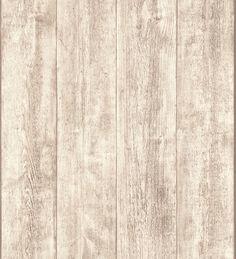 Carta da parati vinilica rustico doghe in legno - 1141650
