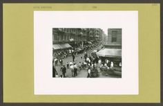 Rivington and Orchard Streets courtesy of NYPL Digital Gallery New York Public Library, Polaroid Film, Digital, Gallery, Community, Book, Roof Rack, Book Illustrations, Books