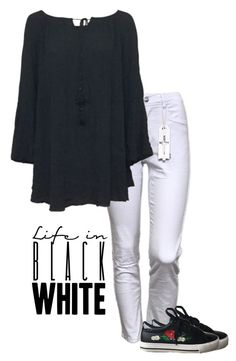 """black white"" by bellino on Polyvore"