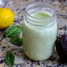 This healthy avocado green goddess dressing is perfect on any salad, sandwich, or on top of a chicken and veggie meal prep bowl. Easy to make paleo/whole30 friendly too!
