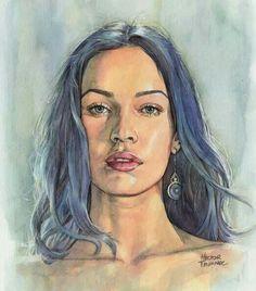 #art #face.