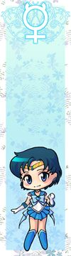 Sailor Mercury bookmark by Marc-G on deviantART. Pinned from Stephy Sama