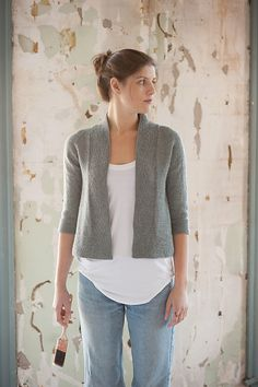 Miriam Cardi by Carrie Bostick Hoge for Quince yarns