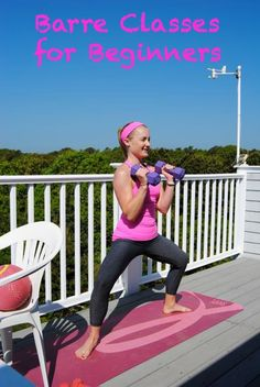 Barre Classes for Beginners - My Own Balance