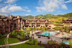 Park City Utah Waldorf Astoria - I have a new obsession with Park City and want to go there SO bad!