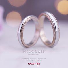 콤비 디자인 밀그레인 웨딩밴드 - Combi design milgrain weddingband / Pt950 & 18K pinkgold . . #결혼커플링 #웨딩반지 #명품커플링 #선물 #반지디자인 #플래티늄 #핑크골드 #milgrain #weddingring #weddingband #luxury #pinkgold #platinum