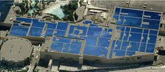 MGM Resorts International announced that the world's largest rooftop solar PV array has been installed on the roof of the Mandalay Bay convention center. Mandalay, Convention Centre, Solar Energy, Solar Panels, Rooftop, Worlds Largest, Tips, Solar Power, Solar Panel Lights