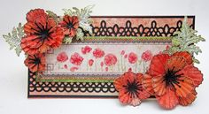 Watercolor Beauty with Heartfelt Creations and Blazing Poppy  - Created by Lori Williams of Pinkcloud Scrappers