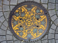 Manholes aren't really artists's first choice. However 95% of Japan's 1,780 municipalities you will find artistic manhole covers unique to each city and town.  ~1eyeJACK~