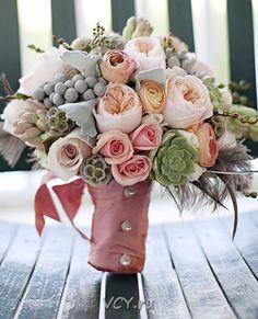 Свадебная флористика: тренды 2014 года. ― ОOO «Всемирная доставка цветов»
