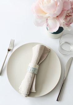 diy faux ceramic napkin rings